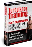 Turbulence training fat burning research